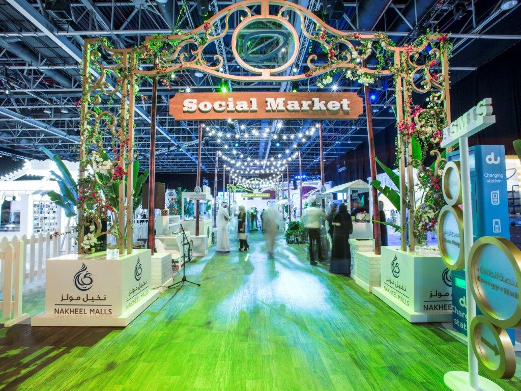 The Arab Social Media Influencers Summit Features a Carnival-Inspired Aesthetic by Done Events