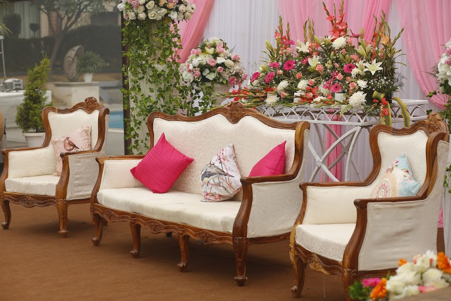 A Pretty Pink Engagement on a Chilly Winter Afternoon - Decor by R2S Signature Weddings