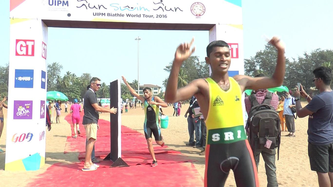 First Edition of UIPM Biathle World Tour 'Run Swim Run' Concludes In Goa