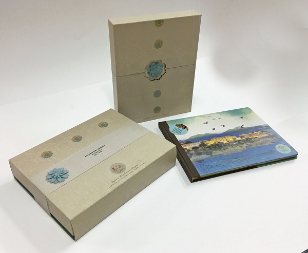 YS Design Crafts an Absolutely Unique Wedding Invite Featuring a Travelogue!