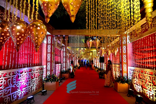 Expemark Communications Executes A Glamorous Wedding at ITC Sunderban, Kolkata