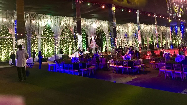 This Magical Sangeet by Effects Tech and Abu Jani Sandeep Khosla Brings A Fairy Tale to Life
