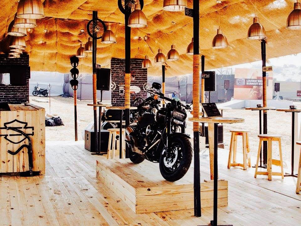 The Yellow Stage Serves Bike Enthusiasts an Authentic Harley-Davidson Experience at IBW 2017