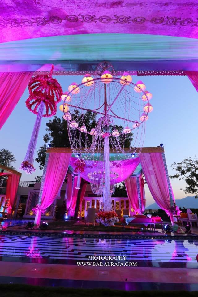 Q Events By Geeta Samuel Designs a Pretty Wedding by the Lake in Udaipur