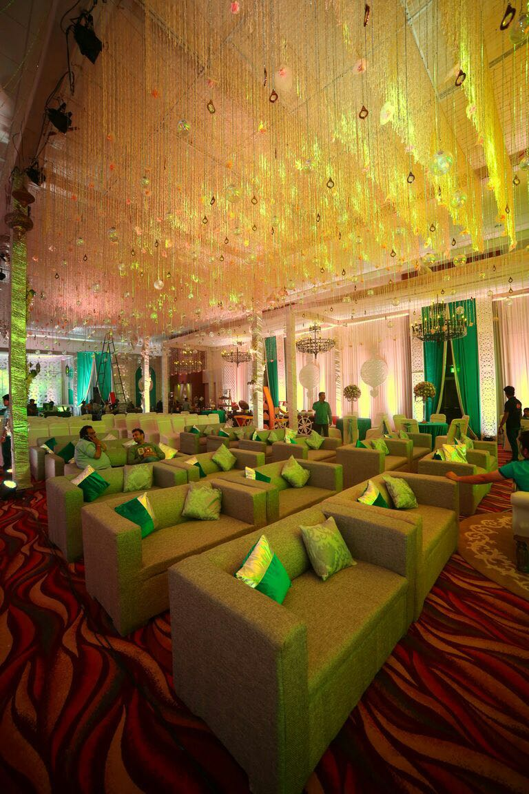 A Pristine White Engagement by Fab Events; Divine Decor by Q Events By Geeta Samuel