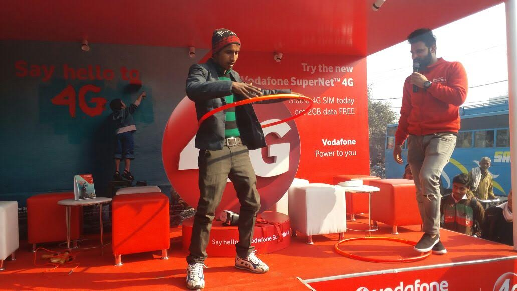 Wishmakers Creates Immersive Roadshow Concept to Promote Vodafone 4G in UP