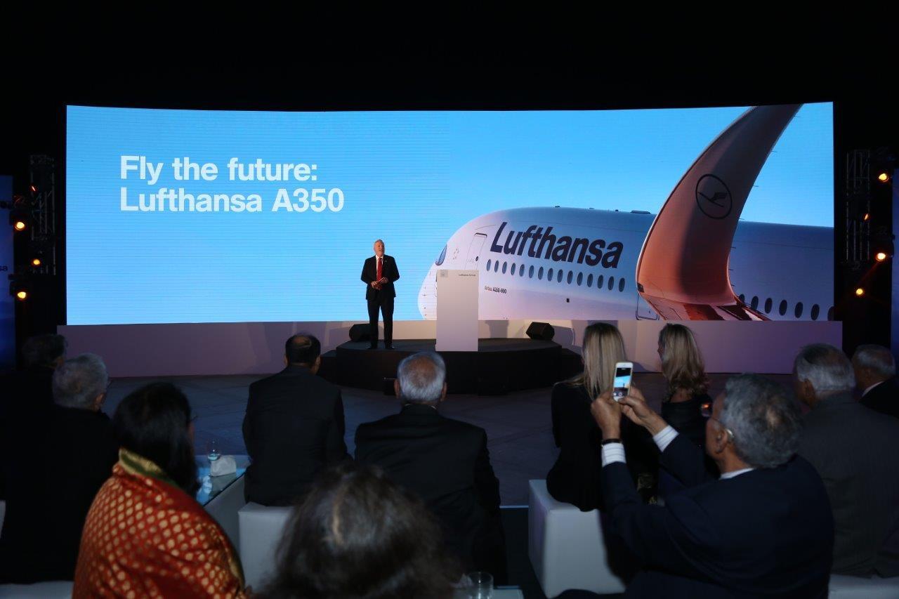 Salt Proves Lufthansa is 'More Indian Than You Think' for A350 Launch