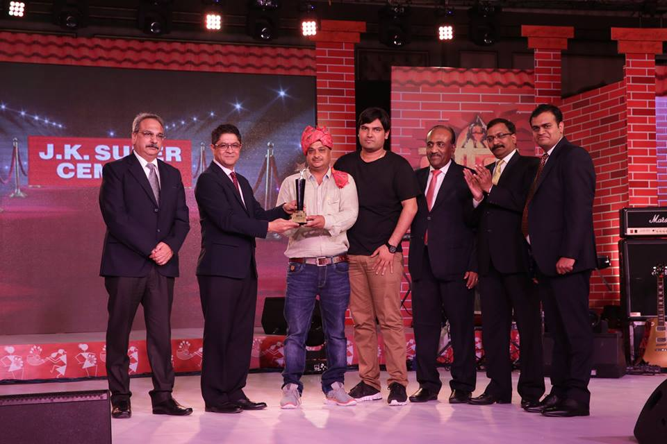 E3 Integrated Produces JK Cement Annual Dealers Conference and Awards at Indana Place, Jaipur