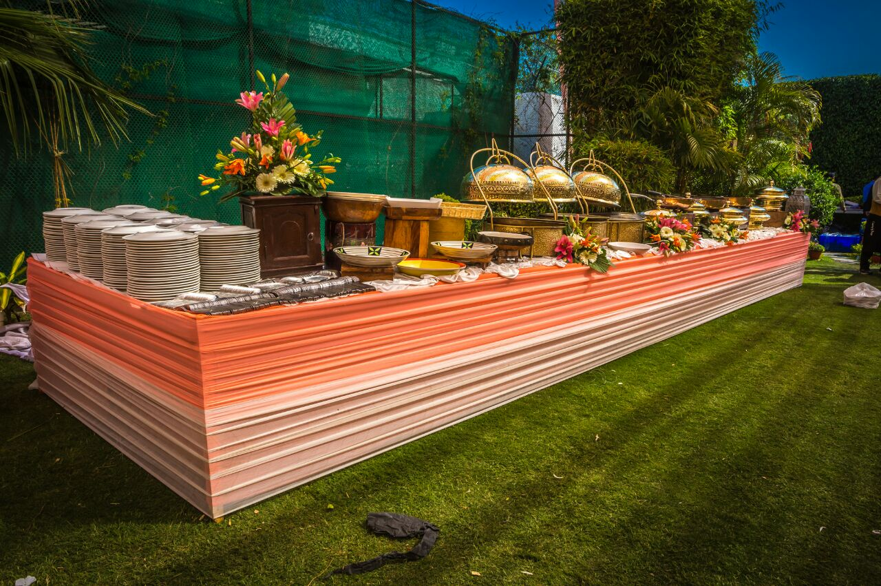 XO Catering Dishes Out Culinary Delights for Sunny Afternoon Wedding in Delhi!