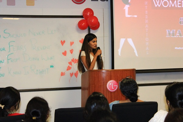 Senses Creations Hosts 'International Women's Day' Celebrations for LG Soft India