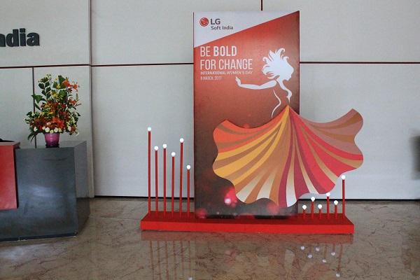 Senses Creations Hosts 'International Women's Day' Celebrations for LG Soft India