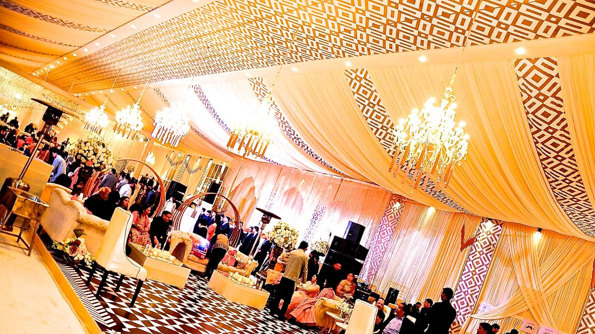 Sophisticated Ludhiana Wedding by Pomegranate Features Prints & Neutral Hues