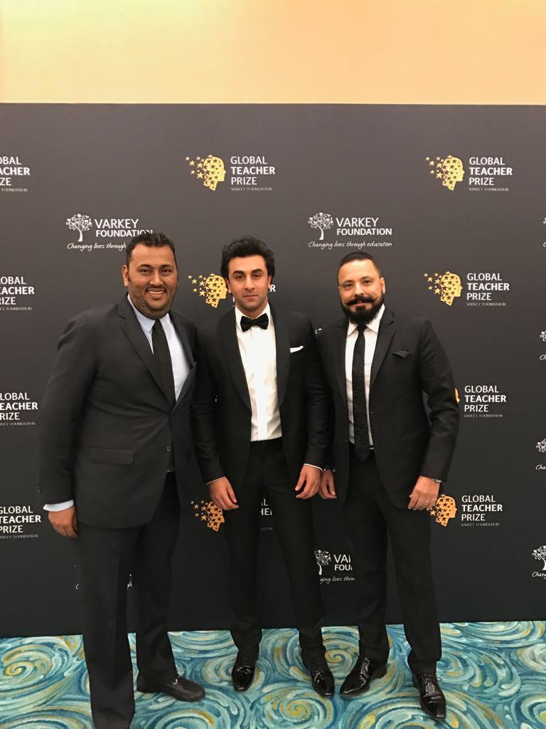 Ranbir Kapoor Associates with Global Teacher Prize 2017