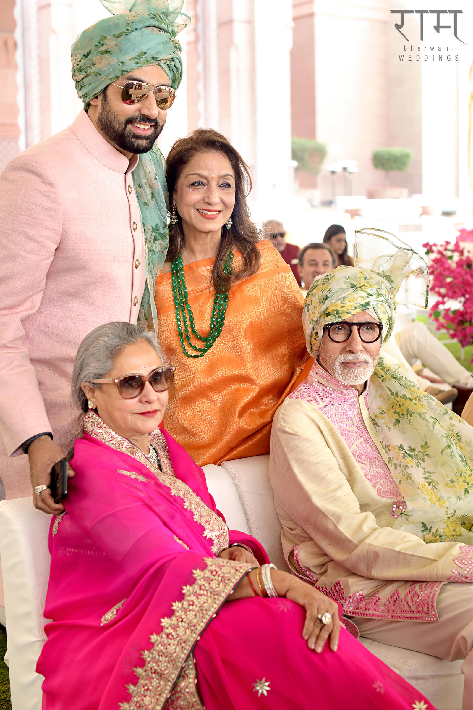 Ram Bherwani Captures Abu Dhabi Wedding by MEW Featuring Amitabh & Abhishek Bachchan!