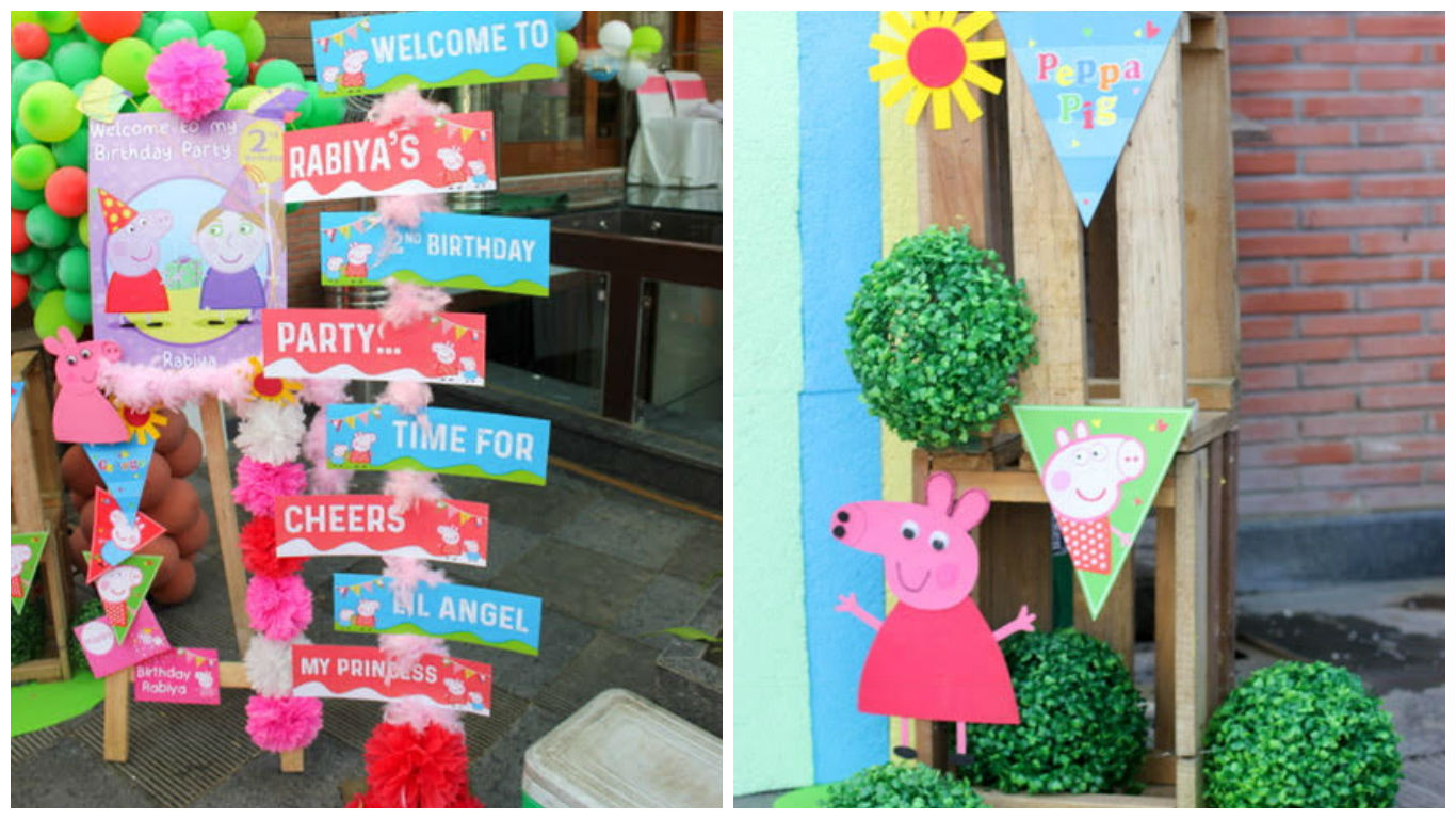 A Peppa Pig Themed 2nd Birthday Designed By Elusive Dreams