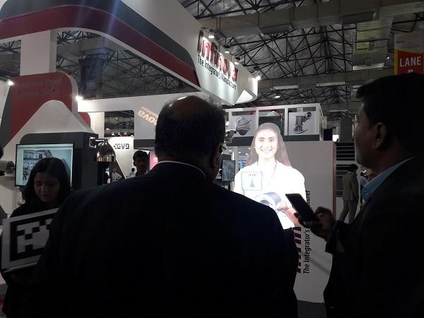 Young Mirchies Creates a Virtual Host for Infinova Group at Secutech 2017