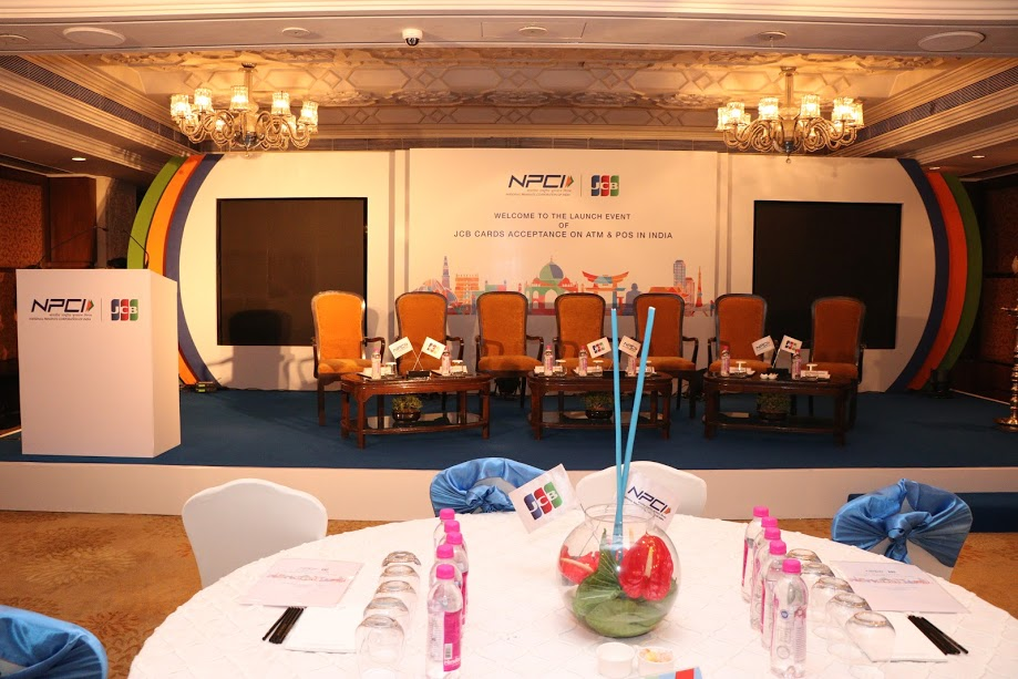 Work Ventures Manages Launch Event for NPCI at Taj Palace Delhi