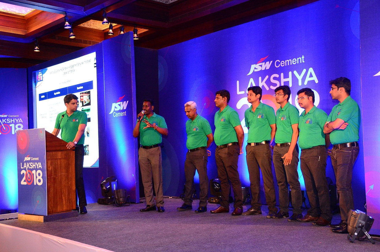 JSW Cements Sales for 2018 with a Conference in Goa