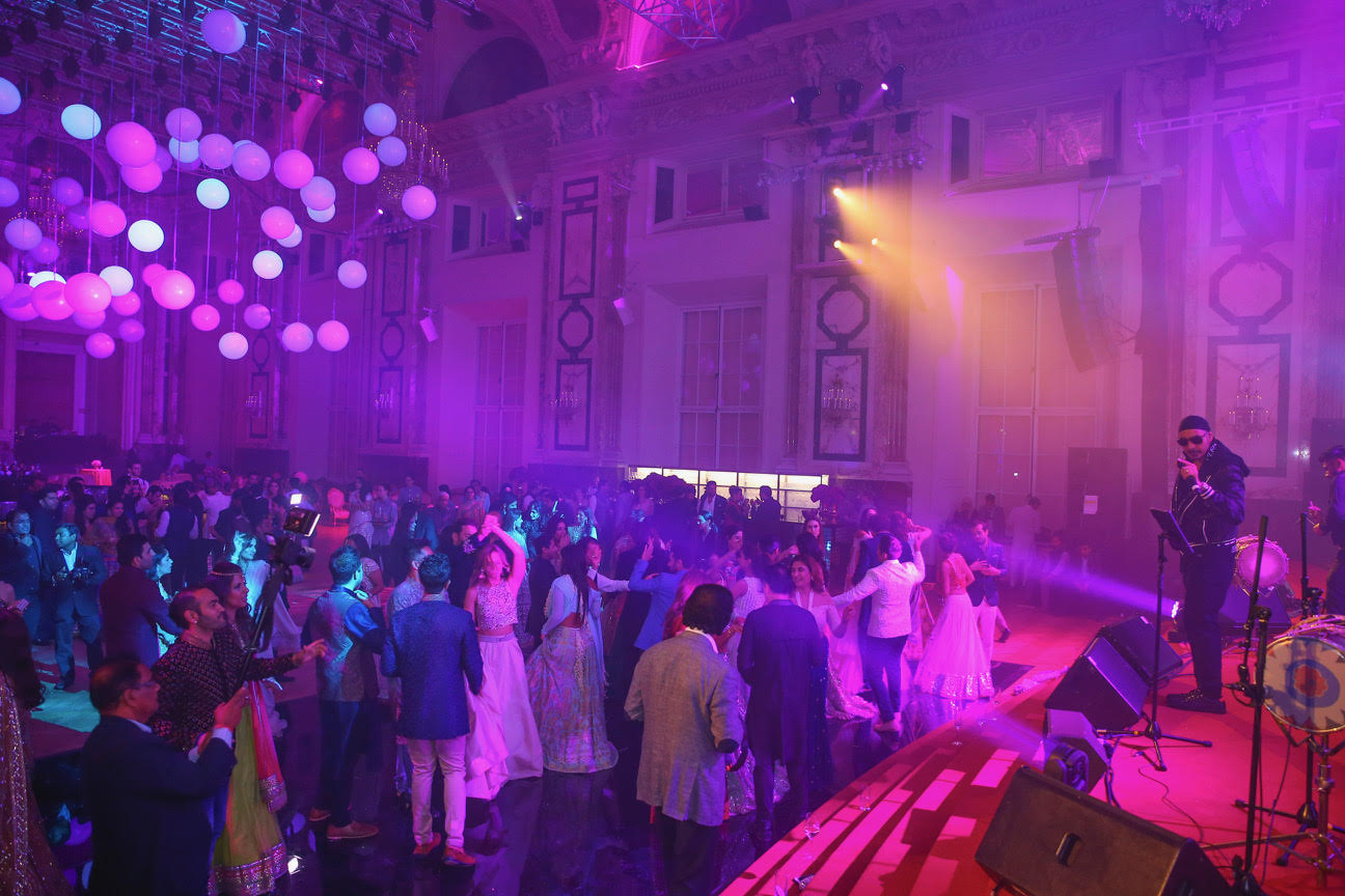 Badal Raja Co Reveals Exclusive Shots of the Recent Vienna Wedding Featuring Bruno Mars!