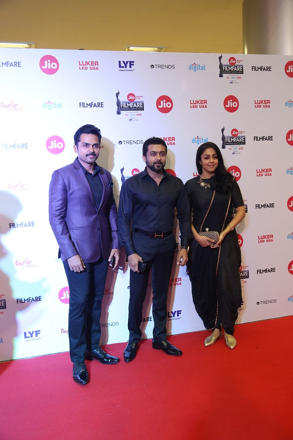64th Jio Filmfare South Awards Sees a Melange of Fashion and Enthralling Performances