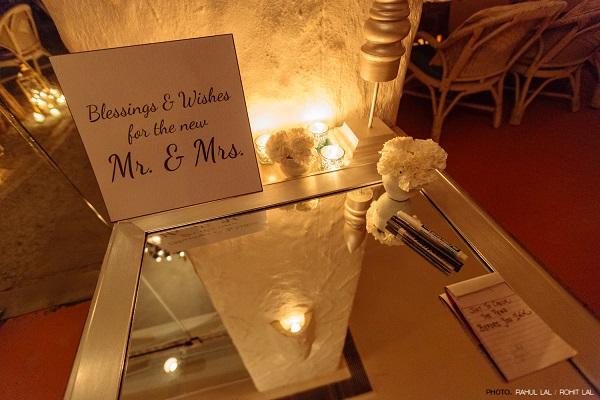 A Pretty, Quaint Wedding Dinner by Wedding Duo at Olive Bar & Kitchen, New Delhi