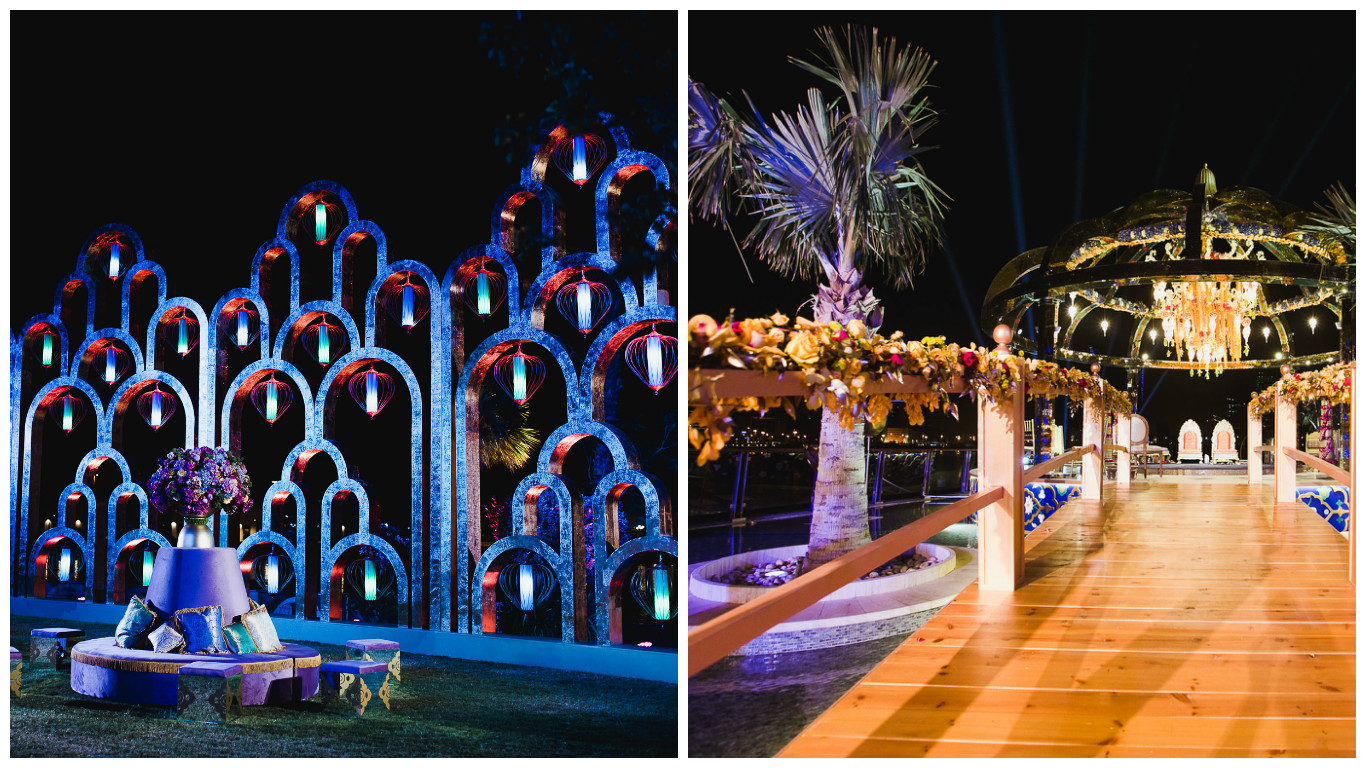 The Kingdom Of Bahrain Hosts Its First Ever Desi Wedding; Designed & Managed By Seven Steps!