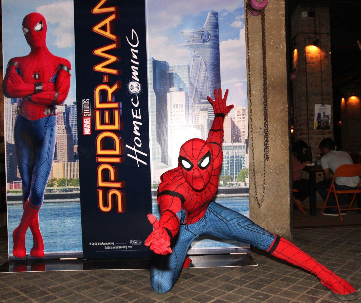 Comic Con India Organises Spider-Man Fan Night in Delhi