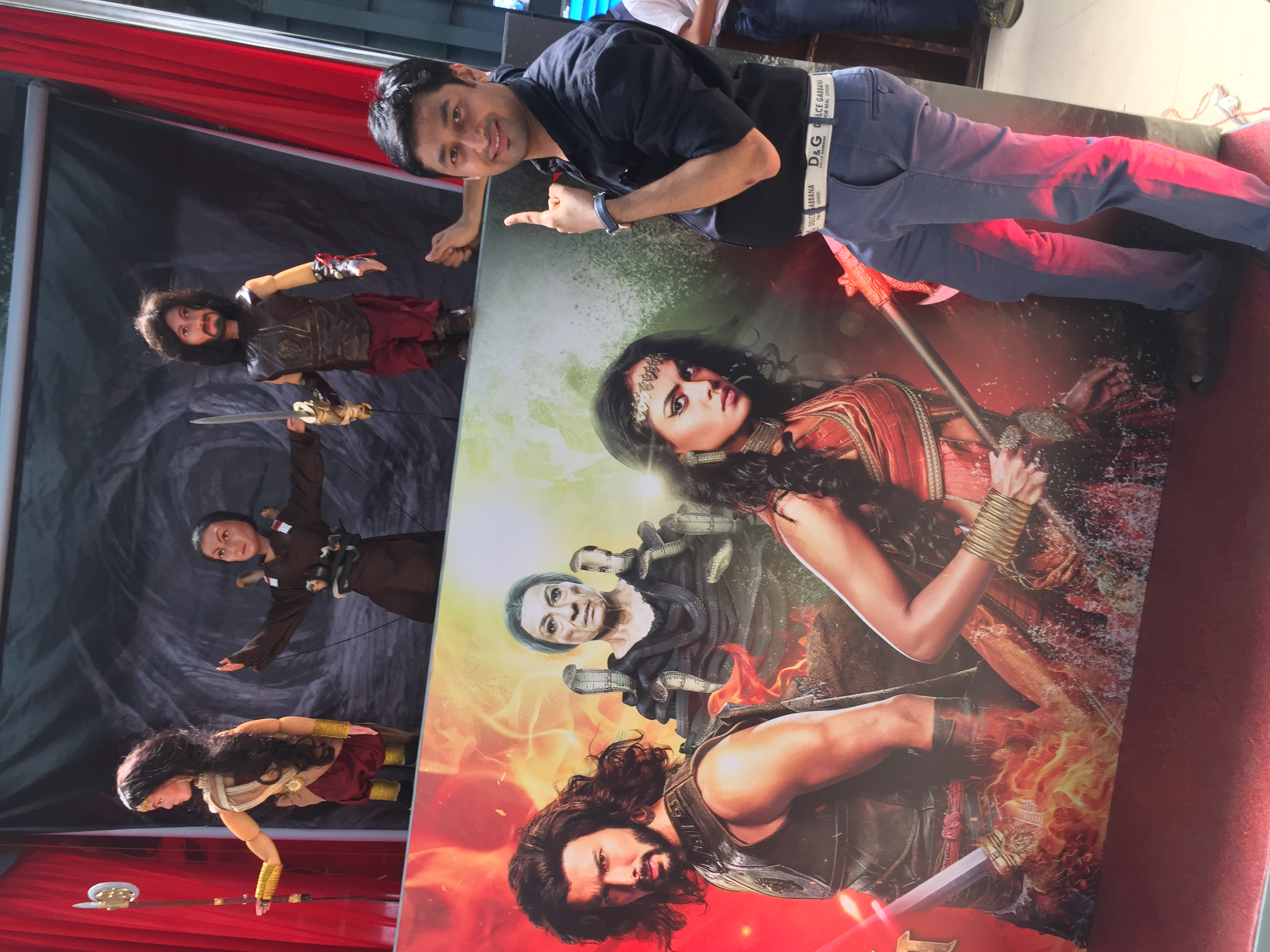 Satyajit Padhye Directs Intriguing Puppet Show to Build Excitement About TV Show Aarambh