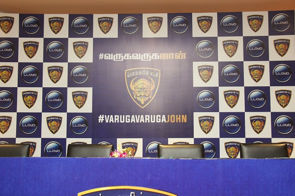 Chennaiyin FC Announces New Coach John Gregory in a Press Launch Managed by GS Worldwide