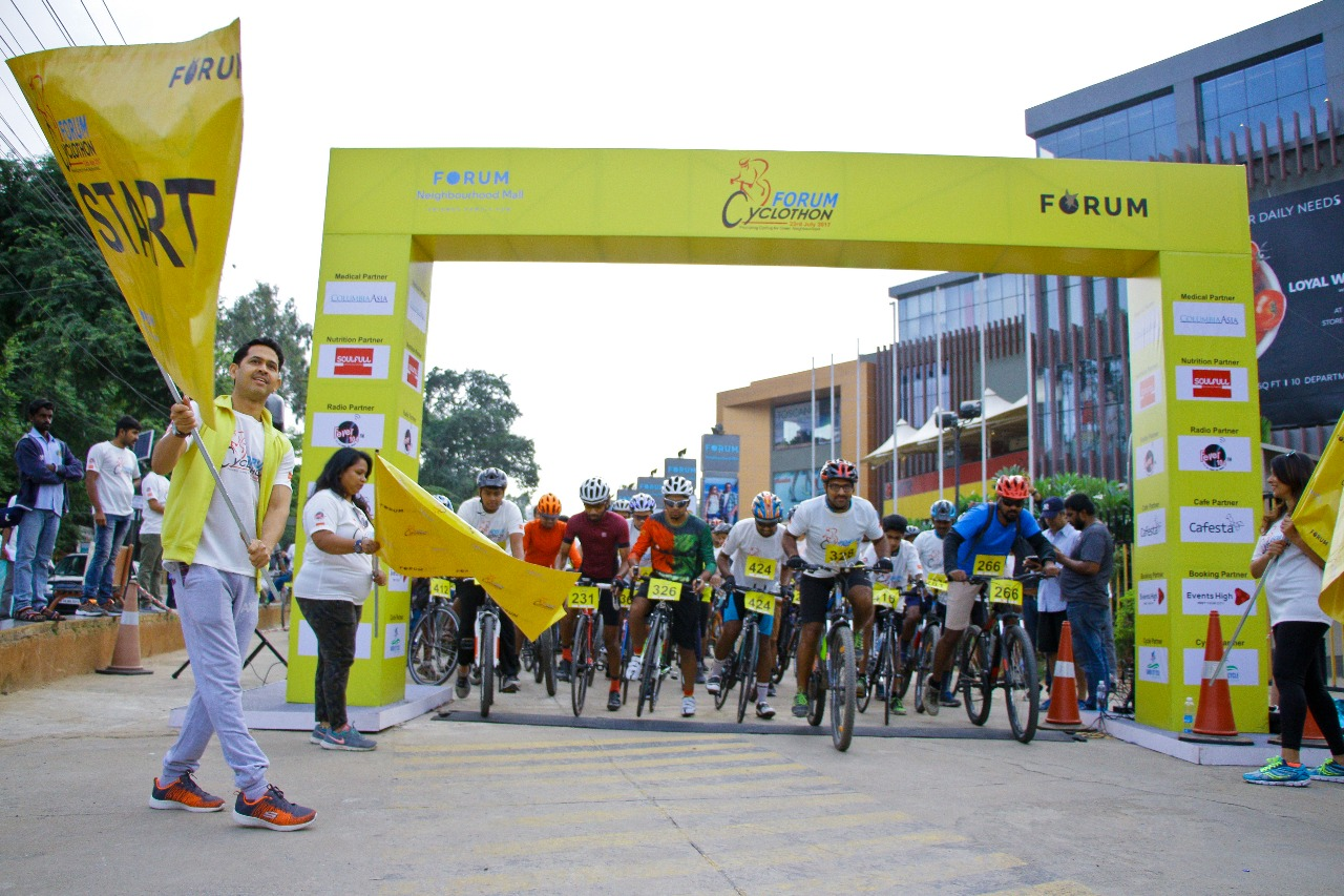 Senses Creations Executes First Edition of Forum Cyclothon 2017 in Bangalore