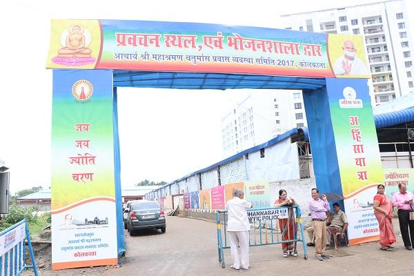 Moksh Events Manages the Mammoth Jain Terapanth Chaturmas Celebrations in Kolkata