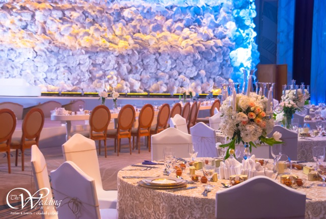 Uae based the wedding venue creates a 3 d effect backdrop for an uae based the wedding venue creates a 3 d effect backdrop for an arab junglespirit Gallery