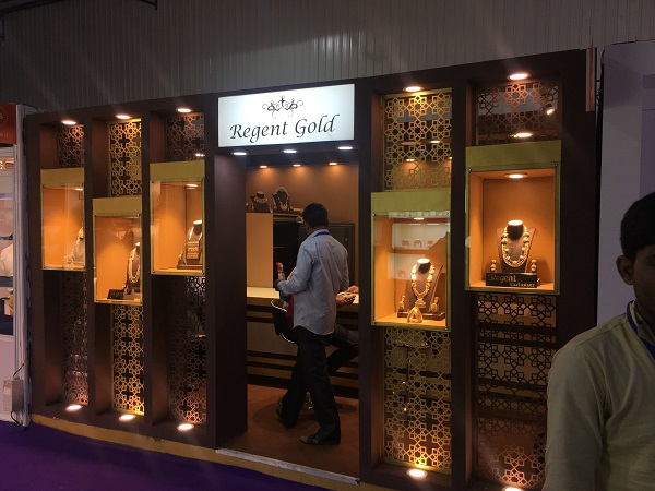 Rising Events Delivers 8 Stunning Stalls at India International Jewelry Show 2017
