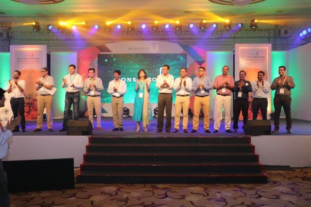 Encompass 'Younites' Monsanto Employees at All India Business Conference 2017 in Goa