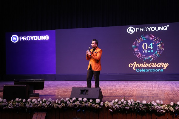 Maximus Produces the 4th Anniversary Celebrations and AGM of ProYoung International