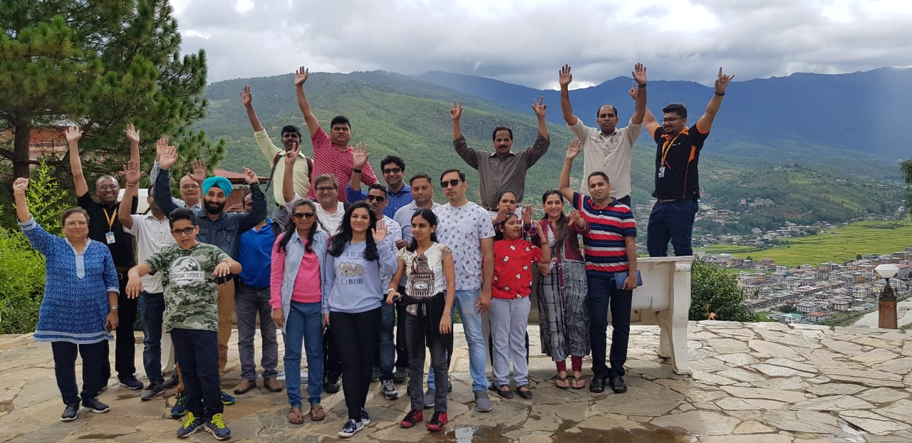 SBI Mutual Funds Travels to Bhutan for an Incentive Trip Managed by Fountainhead MKTG