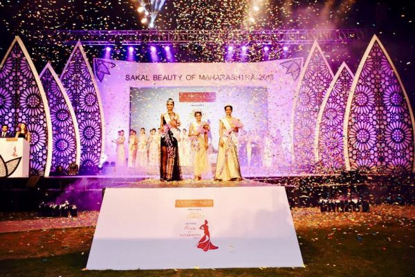 Sakal Beauty of Maharashtra 2018 Sees Flawless Execution By Event Partner Up On The Stage