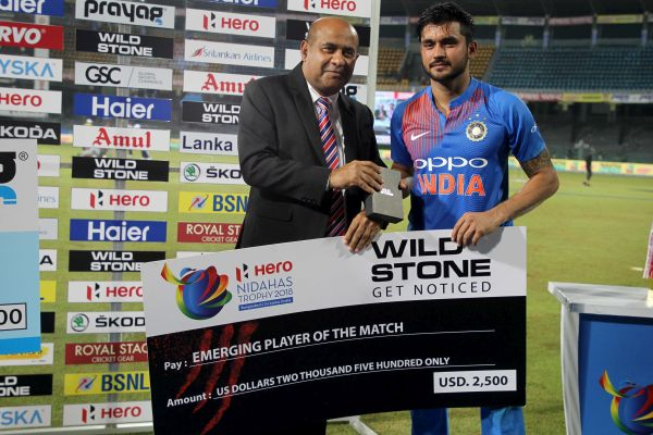 WILD STONE Co-sponsors Tri-Nation Series Nidahas Trophy; Commits $25000 For the 'Emerging Players
