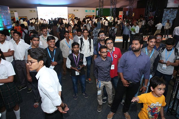 Vibgyor's AR/VR Zone at Rajasthan IT Day Celebration 2018 Awes Audiences