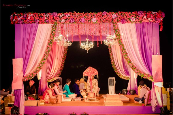 Zuri White Sands, Goa Beautifully Decked-up For This Wedding Captured by Romesh Dhamija Productions