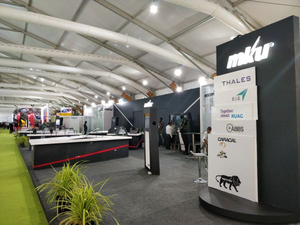 Muse Inc. Designs And Executes The MKU Booth At DefExpo 2018