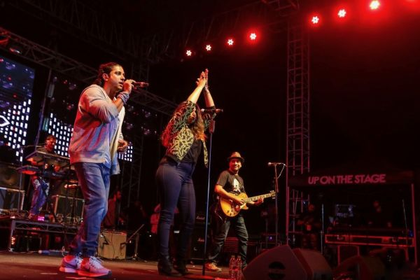 Sakal Times Summersault Music Festival Executed by ABSC Entertainment Up On The Stage in Pune