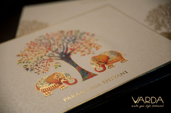 A Lasting Impression of A Wedding Starts Right From The First Look of The Invitation - Varda