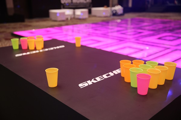 TOAST Events Brings Back Glittering Disco Nights for Skechers Annual Trade Show