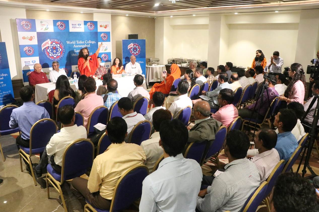 Jagran Solutions manages the launch of first World Toilet College for Reckitt Benckiser