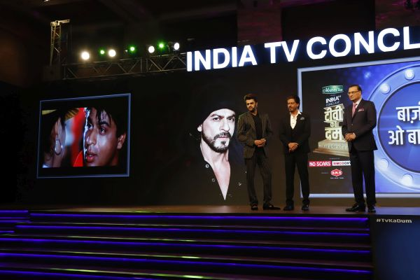 Bollywood and Tellywood Stars Dazzle at the TV Ka Dum Conclave by India TV, Managed by Think XQ