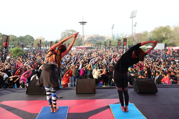 Reebok Brings its Flagship Fitness Festival 'UnREST' to New Delhi Managed by AVS