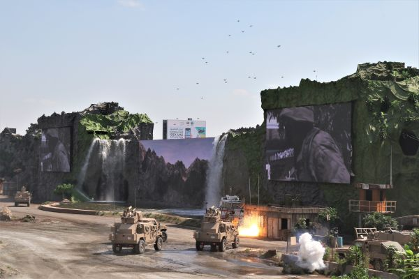 Protec Delivers Fourth Consecutive Explosive Opening Ceremony for the Silver Jubilee of IDEX