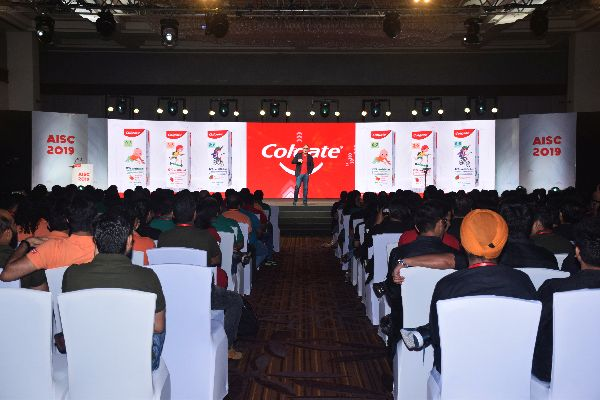 The Bucketlist Executes the Colgate All India Sales Conference 2019