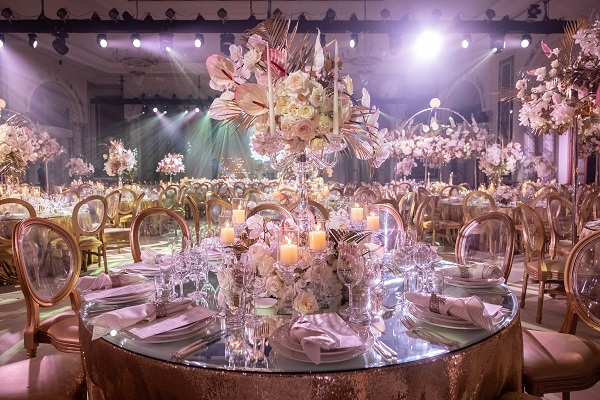 Majestic Décor & Design for this Nuptial Celebration by Fête Events at Habtoor Palace Dubai